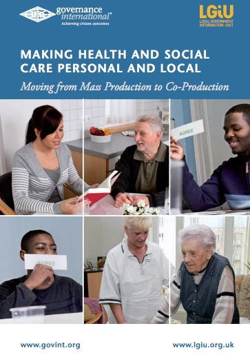 Book launch: Making Health and Social Care Personal