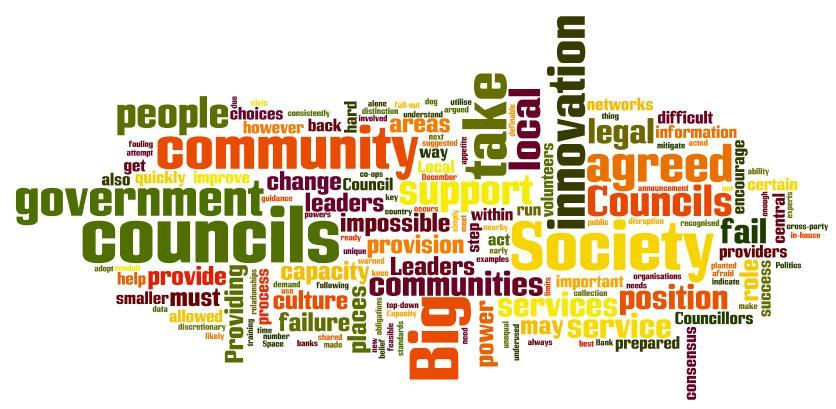 So what is a community?