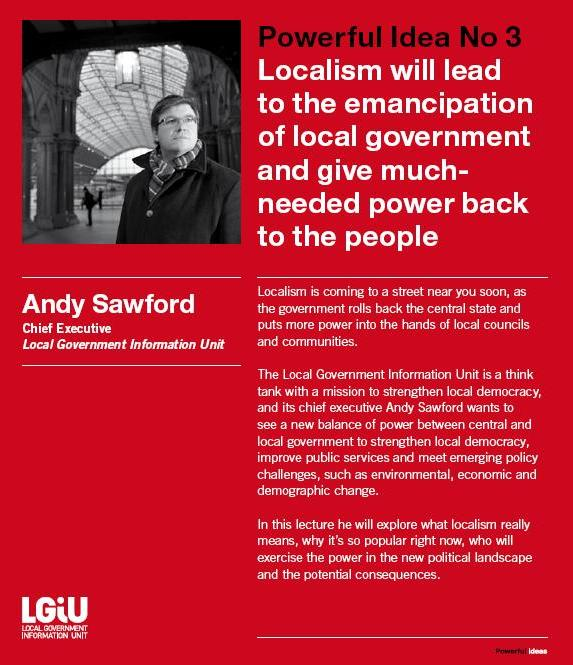 April 7 – Andy Sawford to lead Powerful Ideas lecture at the British Museum