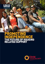 REPORT: Promoting Independence: the future of housing related support