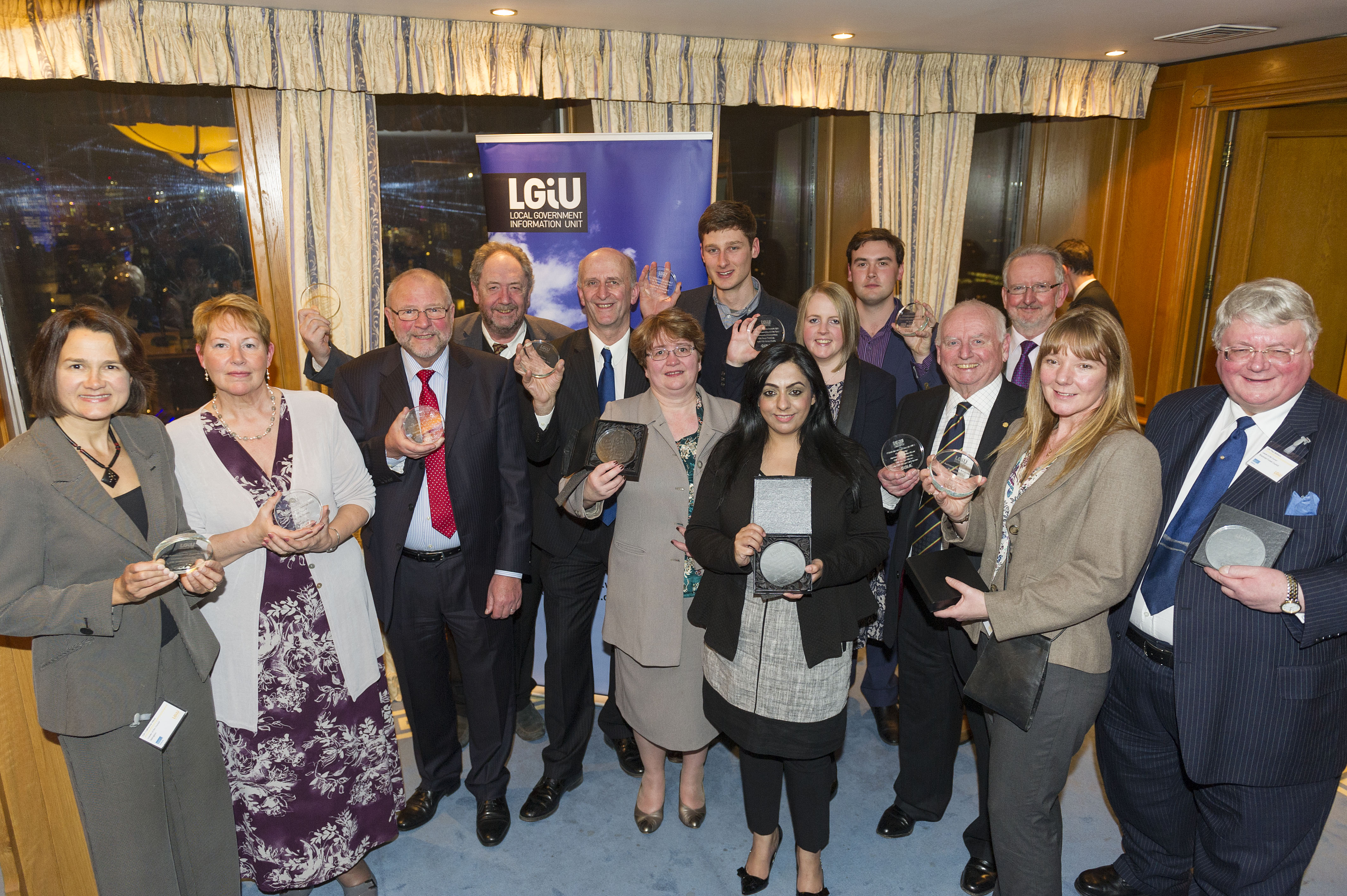 England, UK . 25.2.2013. London . 2013 C'llr Achievement Awards.