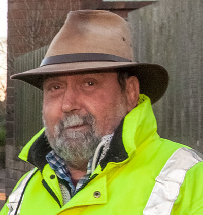 All in a day's work...Andy Boddington, Shropshire Council