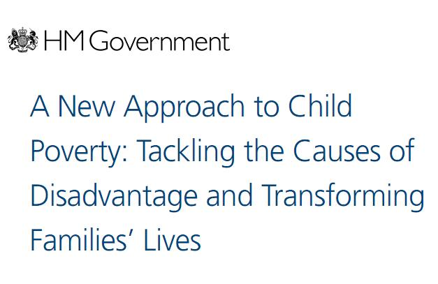 A new approach to child poverty