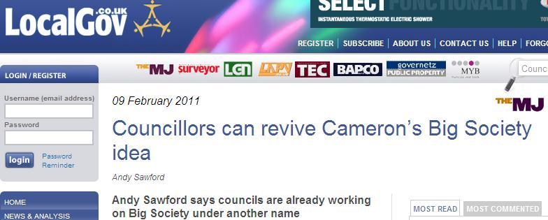 Councils can revive Cameron's Big Society idea