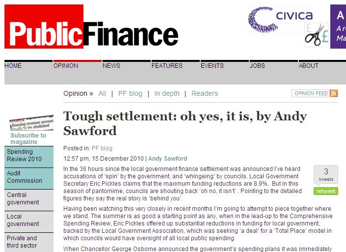 Tough settlement: oh yes, it is