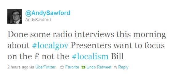 Localism Bill - LGIU in the press