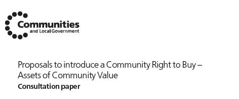 Community Right-to-Buy proposals