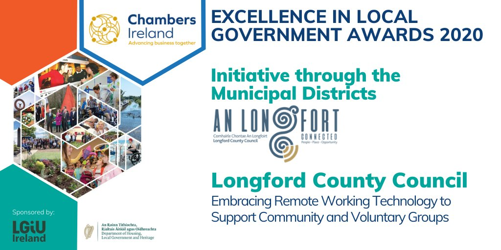 Longford County Council's award-winning adoption of remote working technologies in the face of Covid-19